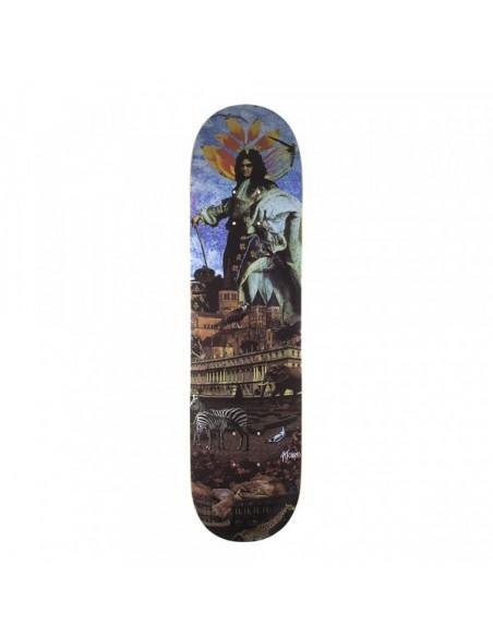 Magenta Skateboards Depuis deck